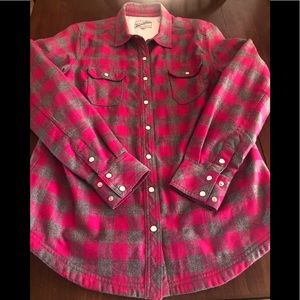 BC Woman lined flannel shirt